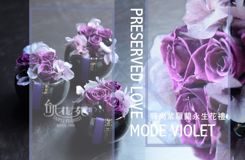 紫羅蘭永生花