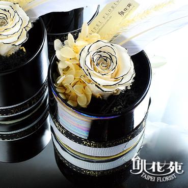 巧克力甜心-永生花TF10016